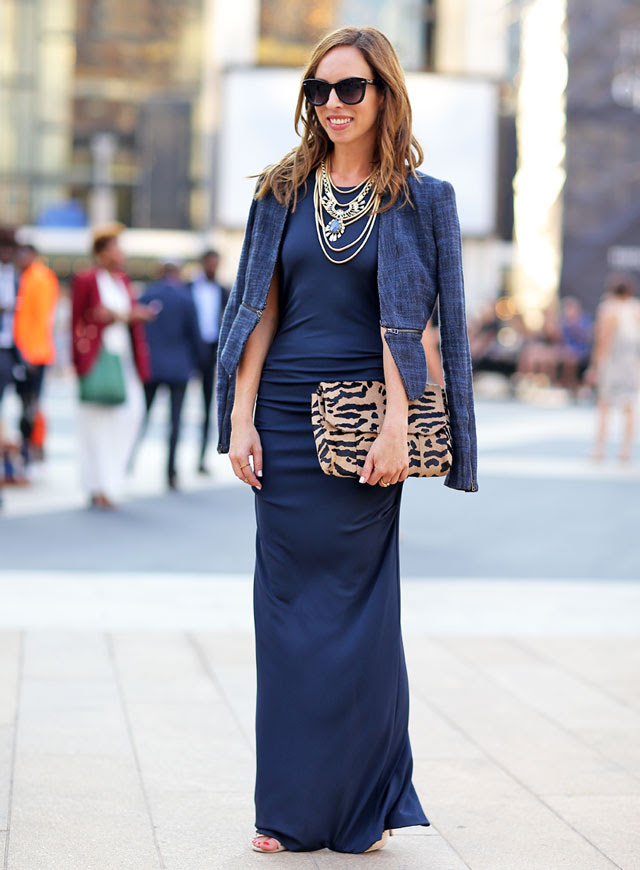 Sydne-Style-New-York-Fashion-Week-Street-Style-Nicole-Miller-fashion-blogger-navy-fall-trends-leopard-layered-necklaces