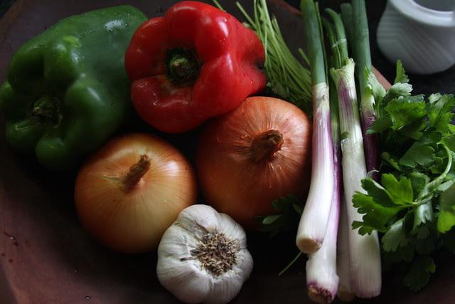 Cebolla, Ajo Pimiento Morron y Verde, Cebollita de Verdeo, Perejil