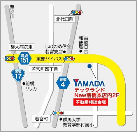ヤマダ電機地図