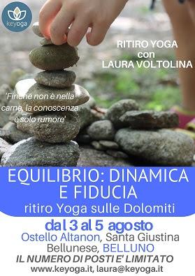 Equilibrio: Dinamica e Fiducia - ritiro Yoga sulle Dolomiti