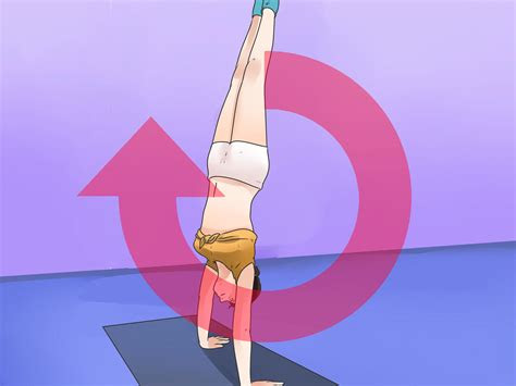 handstand  steps  pictures wikihow