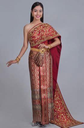 pakaian adat  thailand rancangan ratu sirikit