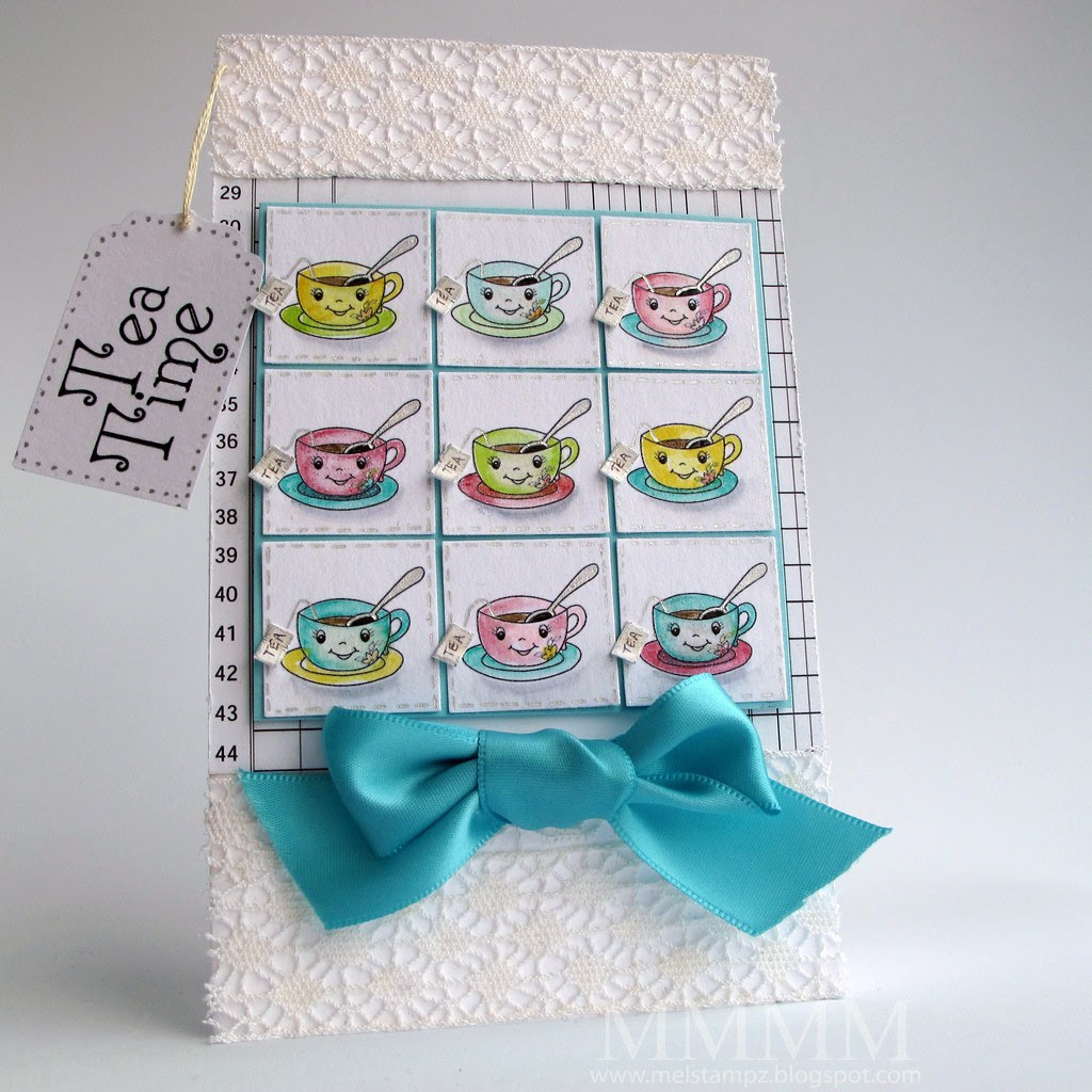 Tiffany Doodles Tea Time inchie card