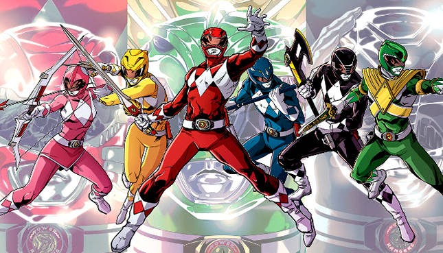 Mighty Morphin Power Rangers Anual 2016