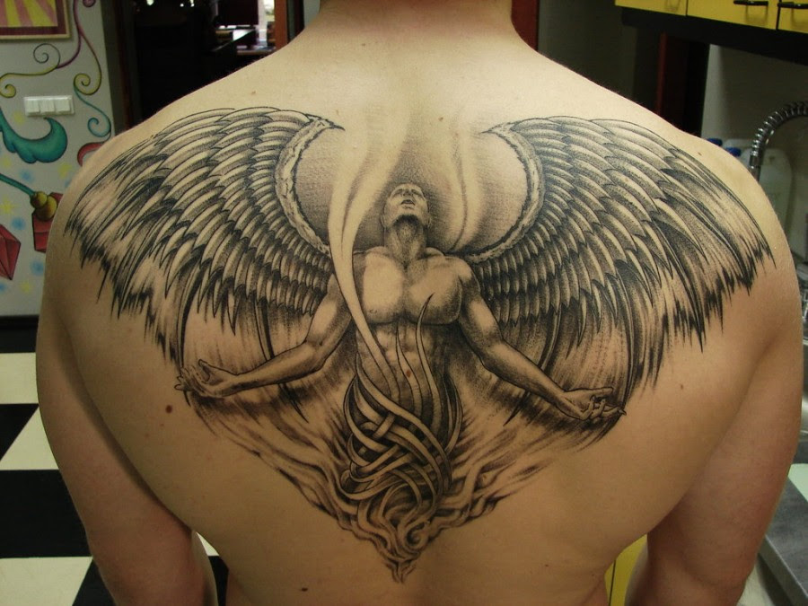 Angel Wing Tattoos For Men Design Tattoomagz