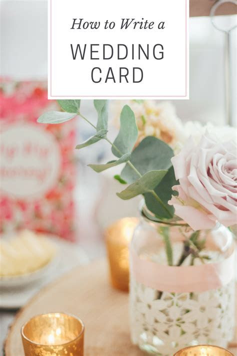 How to Write a Wedding Card   Quotes and Blog Posts