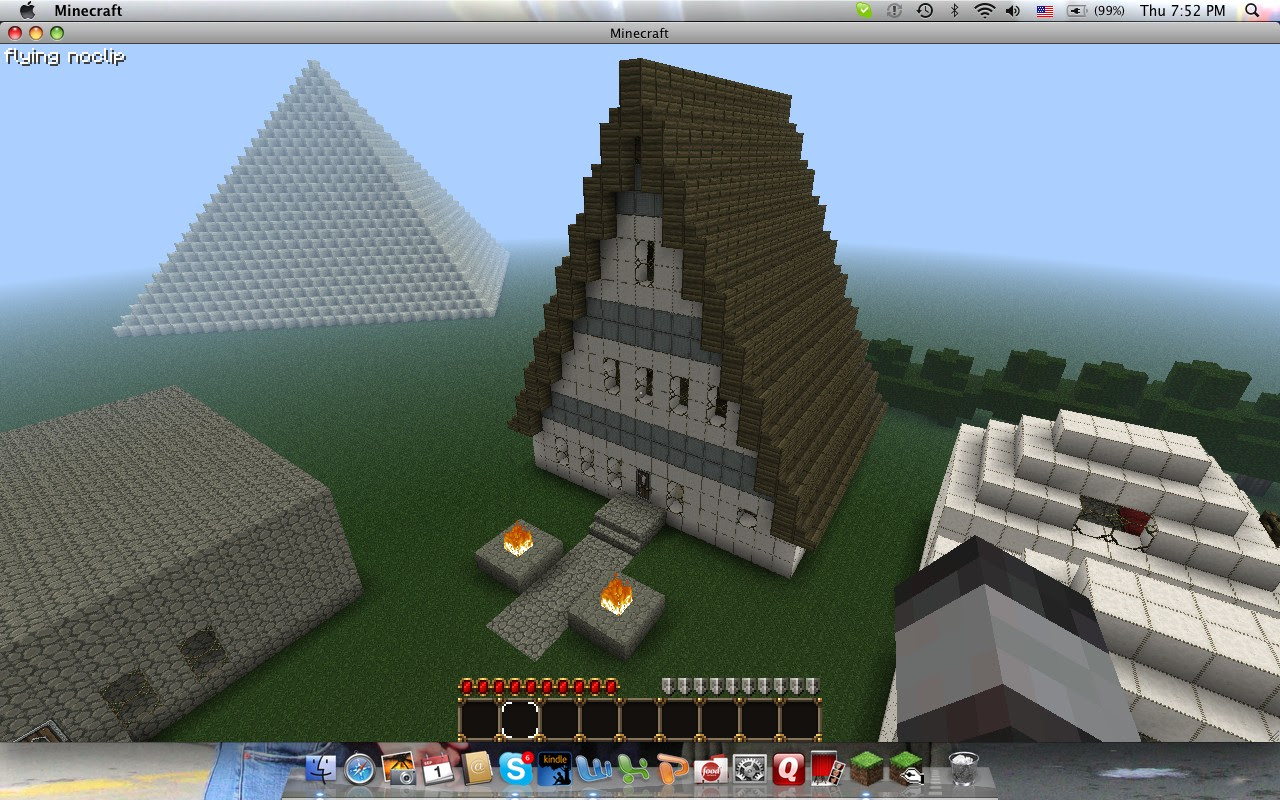 A-Frame Hotel Minecraft Project