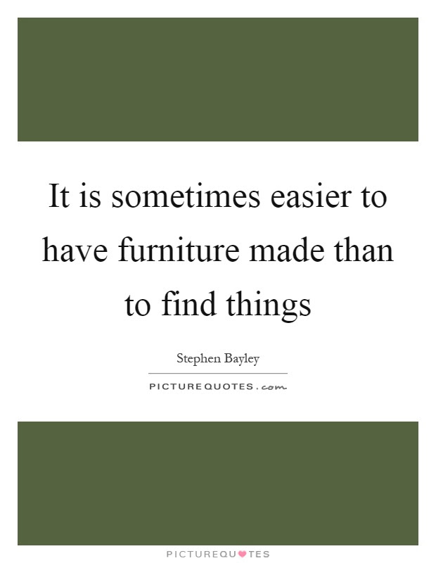The bed is a metaphysical piece of furniture | Picture Quotes