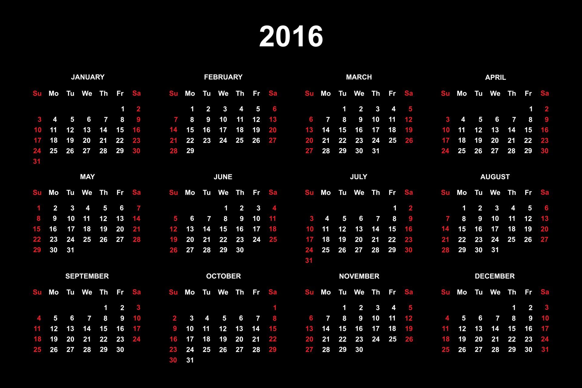 2016 calendar 1424974789kJT