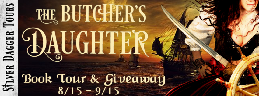 Book Tour Banner for historical romance The Butcher's Daughter by Mark McMillin with a Book Tour Giveaway