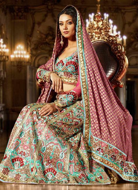 By Fashion: Latest Pakistani Bridal Lehenga Styles