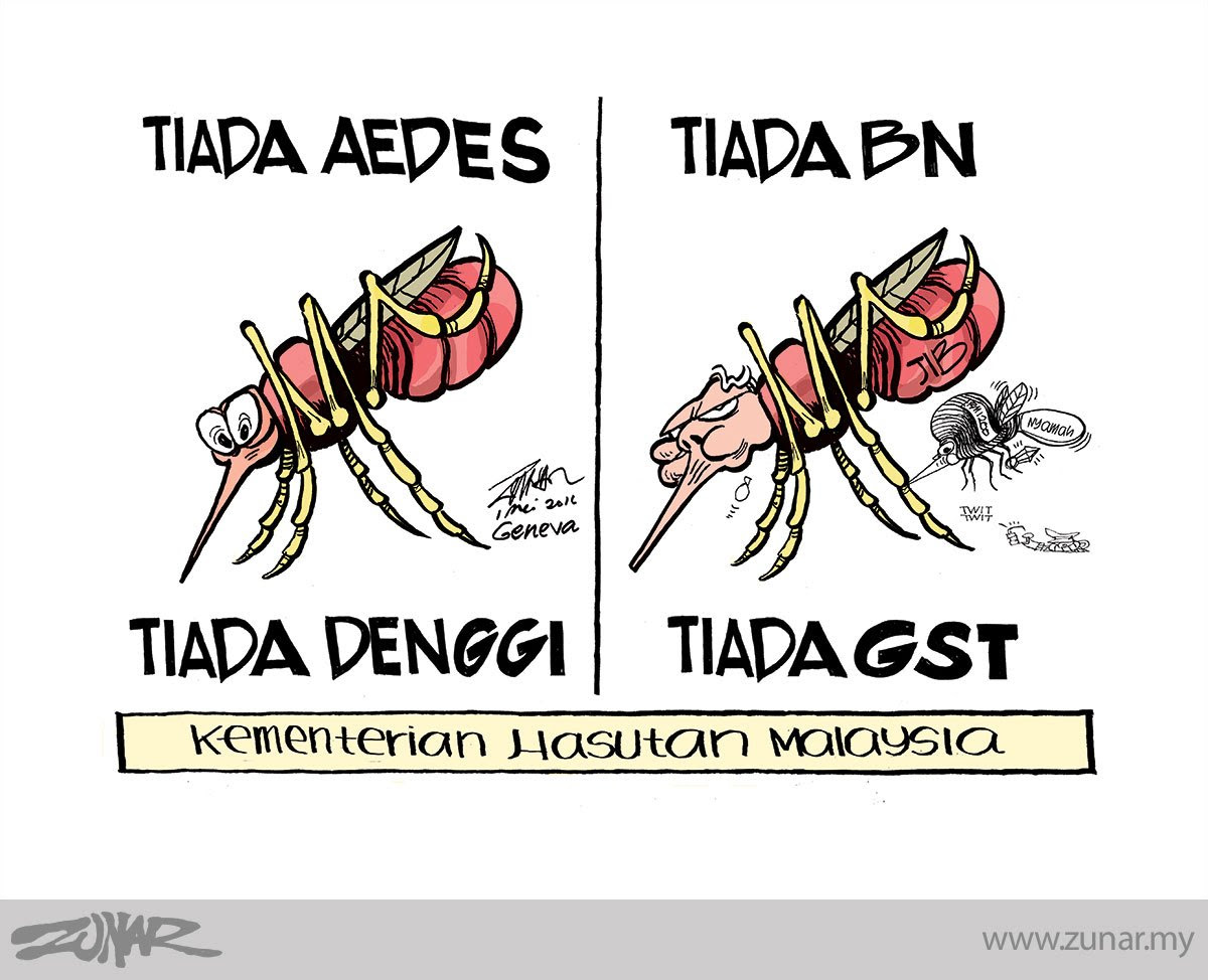 Image result for Gambar kartun Zunar