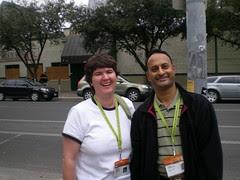 SXSW:Becky McCray & Shashi Bellamkonda