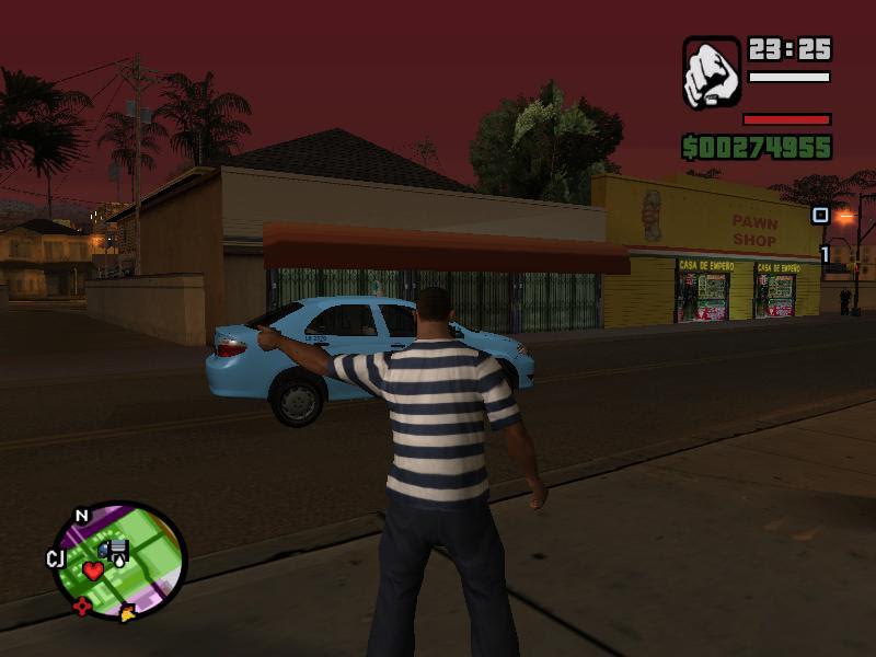 Real Taxi Mod GTA
