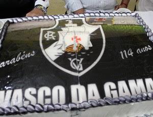 vasco bolo festa (Foto:  Bryan Clem/Vasco.com.br)