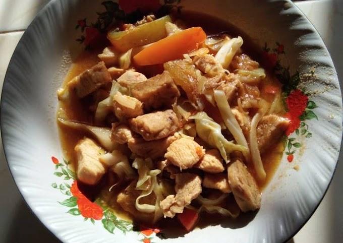 Resep Mudah Tongzeng Ayam Tempe #AlaKozan Anti Gagal
