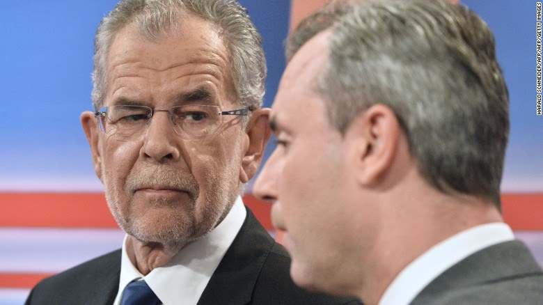 Van der Bellen wins Austrian presidential election