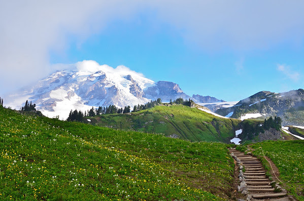 Golden Gate Trail, Mt. Rainier National Park