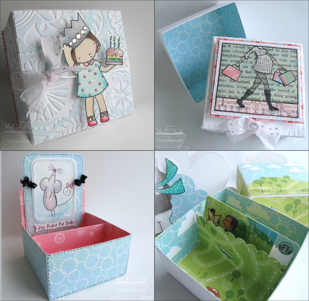 MFT 3x3 box template collection sample collage