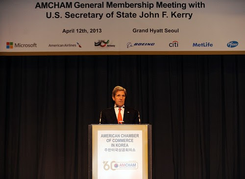 Secretary Kerry Speaks to AMCHAM Members in South Korea by U.S. Department of State