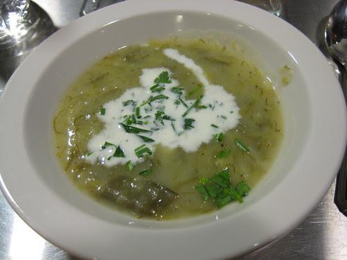 Cold Potato & Leek Soup