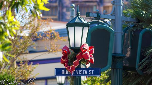 Disneyland Resort, Disney California Adventure, Buena Vista Street, Christmas Time, Christmas