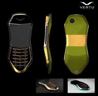 Celular jóia Vertu
