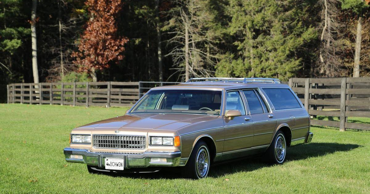 1986 Chevrolet Caprice Classic For Sale 1910195 Hemmings