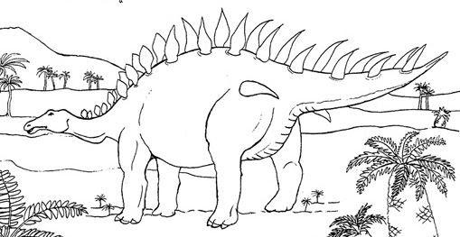 Coloriages De Dinosaures Et Dessins Danimaux Préhistoriques