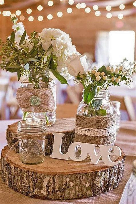36 Ideas Of Budget Rustic Wedding Decorations   Rustic