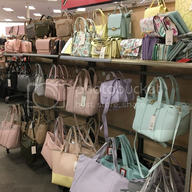 A New Day Target pastel handbags spring 2018