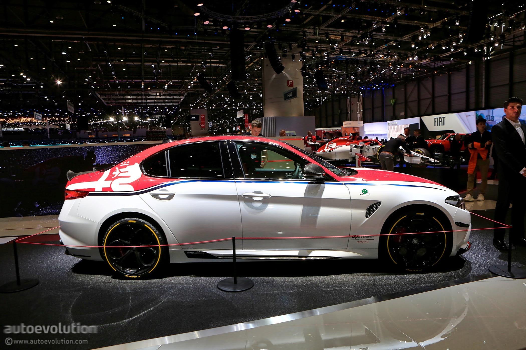 Alfa Romeo Racing Edition Goes Live In Geneva Autoevolution