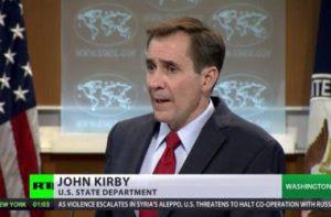 John Kirby minaccia come un gangster