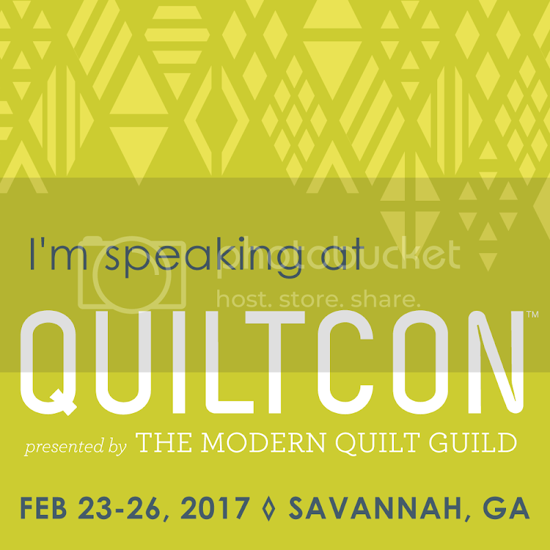 I'm speaking at QuiltCon!!!