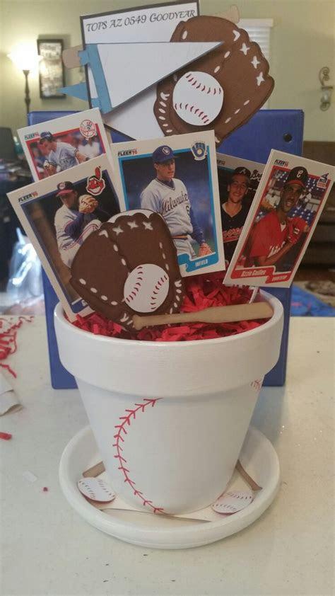 baseball centerpiece hit  home run  tops