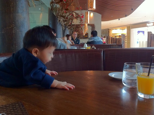 Dining with A Baby