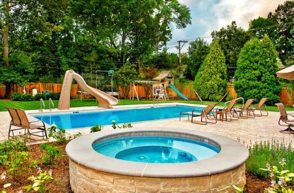 Back Yard with Pool Ideas