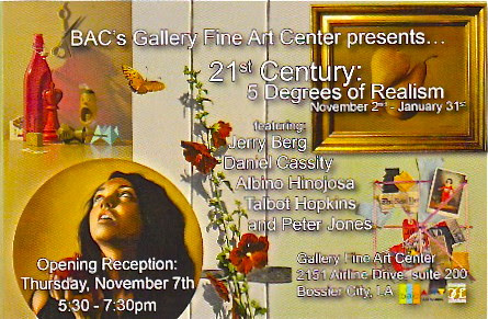 Talbot Hopkins @ Gallery Fine Art Center Nov 7 by trudeau
