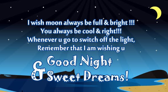 Messages Collection Top 10 Good Night Quotes Images