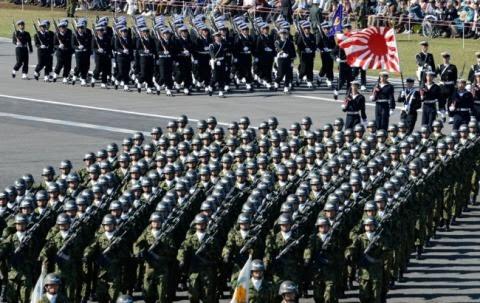 Nhật Bản, Abe, diễn giải Hiến pháp, lực lượng phòng, tứ cường, xoay trục, Hoa Đông, biển Đông, chạy đua vũ trang, Trung Quốc, tranh chấp chủ quyền