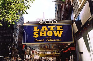 The Ed Sullivan theater, where Late Show with ...