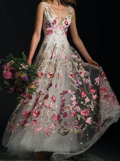 25  Best Ideas about Floral Wedding Dresses on Pinterest