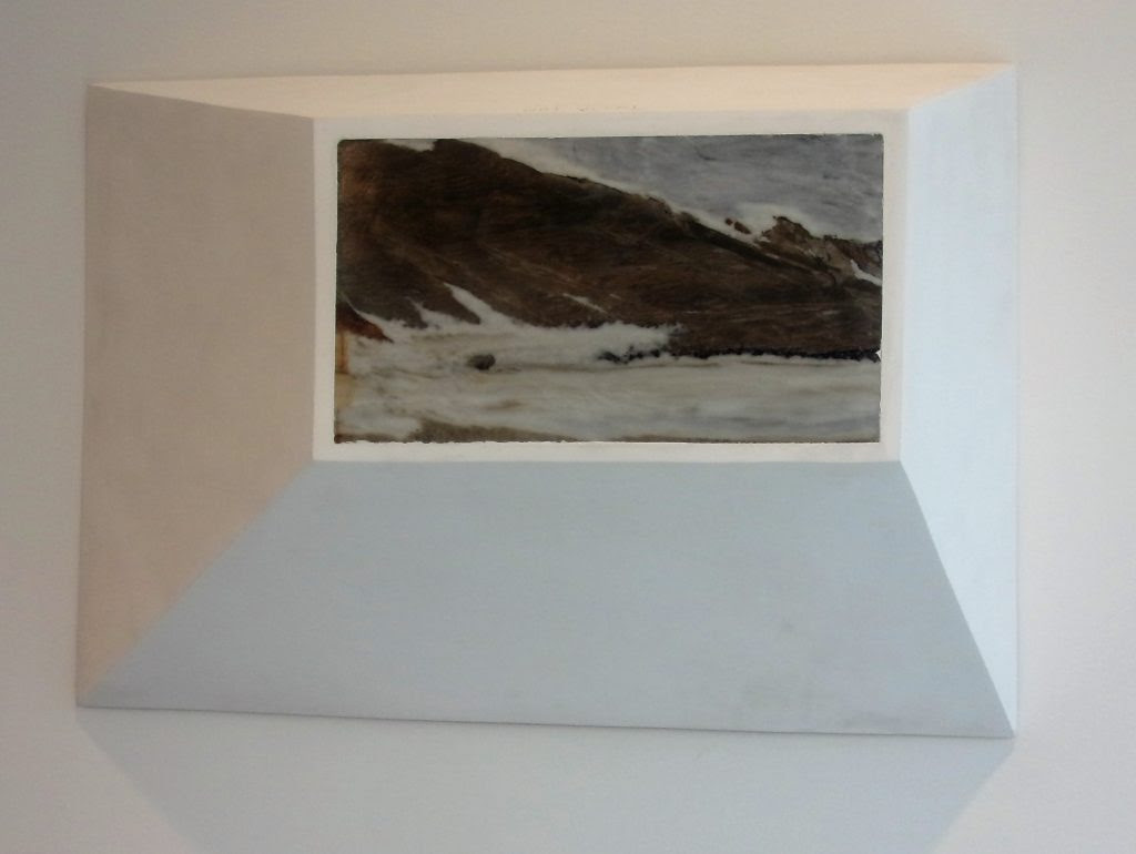 Not Vital: 'Landscape', 2013 - marble and plaster