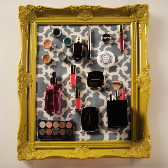 Makeup organizer magnetic