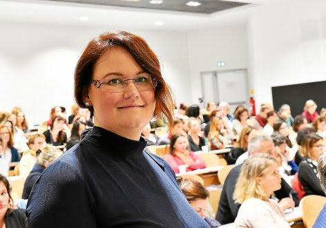 Céline Bigault, psychologue à l'hôpital de Morlaix, est un des membres du comité scientifique qui a organisé la journée de prévention du suicide.