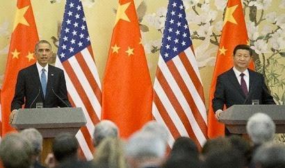"""China y EEUU anuncian un """"acuerdo histórico"""" para luchar contra el cambio climático"""