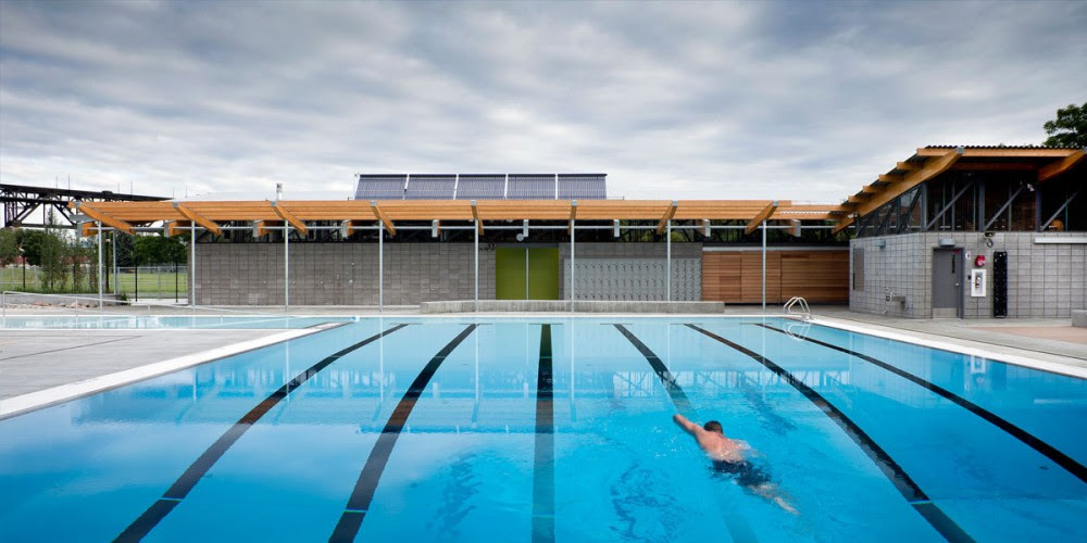 Queen Elizabeth Outdoor Pool / Group2 Architecture Interior Design ...