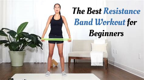 resistance band workout  beginners   minute workout
