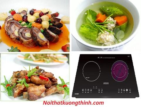 Nấu ăn tiện lợi hơn với bếp điện từ Mastercook MC 289ET