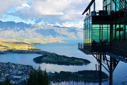 New Zealand architecture and landscape